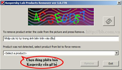 kaspersky remover tool